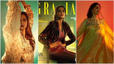 Sonam Kapoor Turns Into a Mystical Muse for Grazia India's New Photoshoot (View Pics)