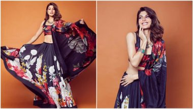 Yo or Hell No? Jacqueline Fernandez in Rohit Bal for 'Bhoot Police' Promotions