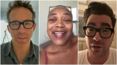 Ryan Reynolds, Dan Levy, Karen Robinson Send Loving Video Messages for Julie Rohr, a Fan Suffering Terminal Cancer and It's the Most Heartwarming Story of the Day!