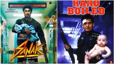 Sanak: Is Vidyut Jammwal's First Look Inspired by the Poster of John Woo's Hard Boiled? (View Pics)