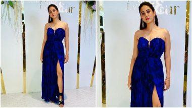 Yo or Hell No? Mira Kapoor's Blue Off-Shoulder Dress By Saaksha & Kinni