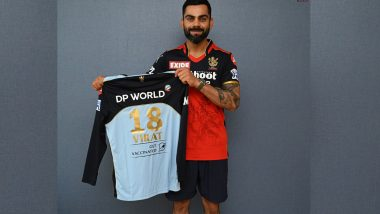 Virat Kohli Says 'Playing for a Special Cause' As RCB Set to Don Blue Jersey Against KKR in IPL 2021 As Tribute to Frontline Workers