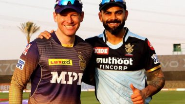 Why is RCB Playing in Blue Jersey Against KKR in IPL 2021 Match at Abu Dhabi?