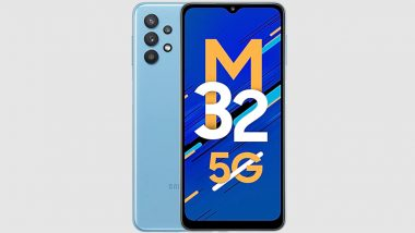 Samsung Galaxy M32 5G First Online Sale Today via Amazon India & Official Website
