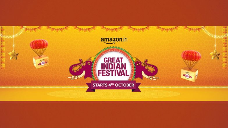 Amazon Great Indian Festival Sale 2021 To Go Live on October 4, 2021 - LatestLY