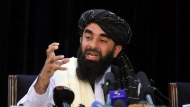Taliban Spokesperson Zabihullah Mujahid Says Group Wants to Establish Diplomatic Relations With Germany