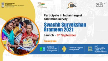 Swachh Survekshan Grameen 2021 to Be Launched on September 9