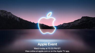 LIVE News Updates: Apple iPhone 13 Series, New iPad, iPad Mini & Watch Series 7 Launched