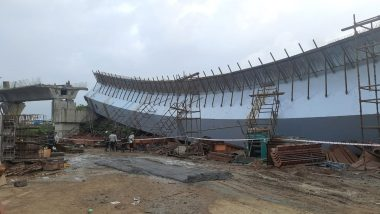 BKC Girder Collapse: FIR Registered Against Project Manager and Contractor of Under-Construction Flyover in Mumbai