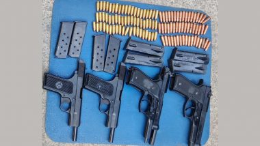 Jammu and Kashmir: Arms and Ammunition Recovered by Security Forces in Pulwama