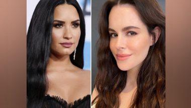 Here's How Demi Lovato Slid into Schitt's Creek Star Emily Hampshire's DM