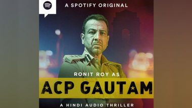 Ronit Roy Essays Role of a Cop in Spotify's New Podcast ACP Gautam