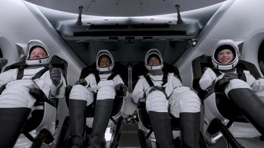 SpaceX launches Inspiration4 Rocket with First All Civilian Crew from NASA's Kennedy Space Center