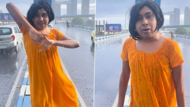 Sandy Saha, Social Media Influencer, Fined For Dancing And Filming Video on Maa Flyover In Kolkata