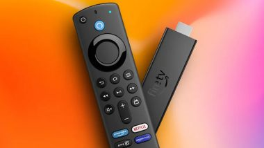 Amazon Fire TV Stick 4K Max With Wi-Fi 6 Support Launched in India
