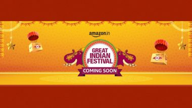Amazon Great Indian Festival Sale 2021 Coming Soon; HDFC Bank Discounts, Deals on Smartphones & More Teased