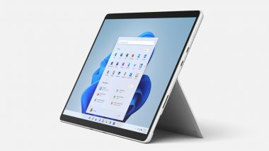 Microsoft Launches Surface Pro 8 2-in-1 Laptop With Surface Slim Pen 2