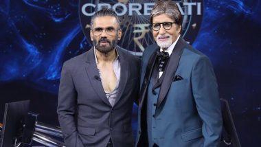 Kaun Banega Crorepati: Suniel Shetty Feels Like a Crorepati After Gracing the Sets of Amitabh Bachchan's Show