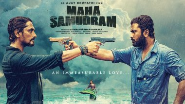 Maha Samudram: Aditi Rao Hydari, Sharwanand and Siddharth Film's Trailer To Be Out Tomorrow