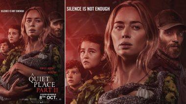 A Quiet Place Part II: Emily Blunt's Film To Hit Indian Theatres on October 8