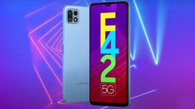 Samsung Galaxy F42 5G Smartphone Launching Tomorrow in India; Expected Prices & Specifications