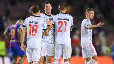 Benfica vs Bayern Munich, UEFA Champions League 2021-22 Live Streaming Online