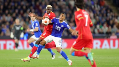 Leicester City 2-2 Napoli, UEFA Europa League 2021-22: Victor Osimhen Stars In Italian's Comeback (Watch Goal Video Highlights)