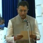 Uttar Pradesh Cabinet Expansion: BJP Leader Jitin Prasada Takes Oath as Minister in UP Government (Watch Video)