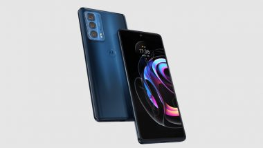 Motorola Edge 20 Pro Smartphone To Be Launched in India on October 1, 2021