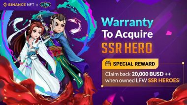 Win Legend of Fantasy War: Legendary Mystery Box with 30,000 BUSD Promotion