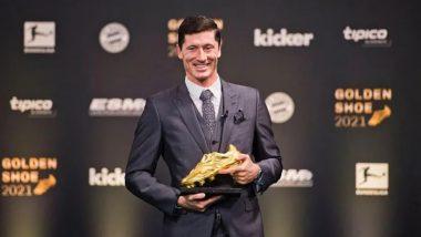 Robert Lewandowski Bags Golden Shoe 2020-21!