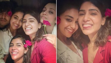 Samantha Akkineni Chills With Trisha, Keerthy Suresh and Kalyani Priyadarshan, Posts Happy Pics!