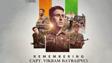 Shershaah Star Sidharth Malhotra Pays Heartfelt Tribute to Captain Vikram Batra on His Birth Anniversary