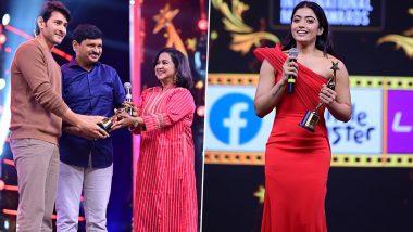 SIIMA 2021 Full Winners List: Mahesh Babu, Rashmika Mandanna, Dhanush, Nivin Pauly, Manju Warrier Win Big at the Awards Night!