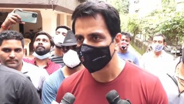 Sonu Sood Breaks His Silence Amidst the Tax Evasion Allegations, Claims He Hasn't Done Anything Wrong (Watch Video)