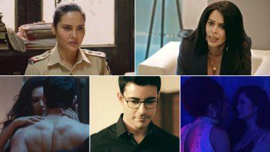 Nakaab Trailer: Esha Gupta, Mallika Sherawat, Gautam Rode's MX Player Crime Show Is Twisted and Mysterious (Watch Video)