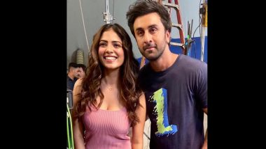 Malavika Mohanan Shares an Adorable BTS Picture With Ranbir Kapoor As They Unveil Their New Ad