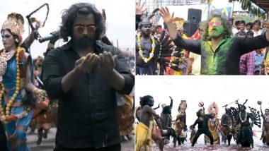 Mahaan Song Soorayaatam: Santhosh Narayanan Makes Vikram Dance to His Thappattam Beats! (Watch Video)