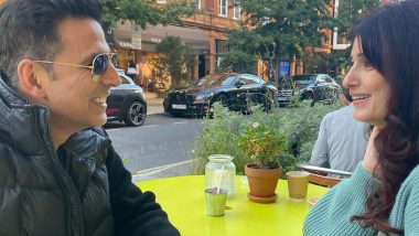 Twinkle Khanna Shares Beautiful Candid Clicks With Hubby Akshay Kumar, Says 'From Jab We Met to What the Heck!'