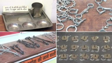 See Mementos, Fetters of Freedom Fighters, Including Jawaharlal Nehru, in This Museum