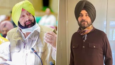 Navjot Singh Sidhu Is 'Incompetent', Has Connections With Pakistan; Will Oppose Any Move To Make Him Punjab CM, Says Captain Amarinder Singh