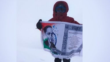 Bhuvan Jai, 8-Year-Old Boy From Andhra Pradesh, Is the Youngest To Scale Mount Elbrus; Unfurls Tricolour (See Pic)