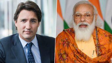 PM Narendra Modi Congratulates Canadian PM Justin Trudeau for Victory in Elections