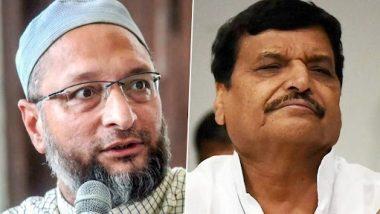 Uttar Pradesh Assembly Elections 2022: Asaduddin Owaisi Meets Shivpal Yadav, Terms It Courtesy Call
