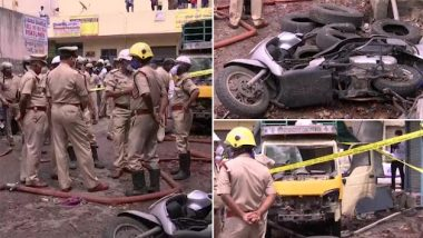 Bengaluru Blast: 3 Dead, 4 Injured in Powerful Explosion at a Godown in New Tharagupet Near Royan Circle