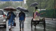 Monsoon 2021 Forecast: Heavy Rainfall To Lash Gujarat, Rajasthan and Madhya Pradesh Till September 23 Due to Low Pressure Area