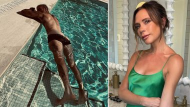 Victoria Beckham's Cheeky Photo of Her Husband David Beckham in the Pool Is Breaking the Internet