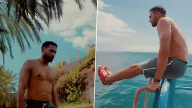 Yudhra: Siddhant Chaturvedi Wraps Portugal Schedule of His Upcoming Film; Shares Fun Montage Video of His Workout Routine