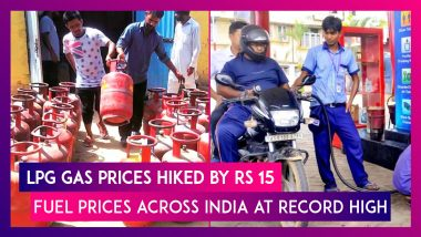Petrol, Diesel Prices Across India At Record High, LPG Gas Prices Hiked By Rs 15