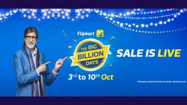 Flipkart Big Billion Days Sale 2021 Now Live for All Users; Check Offers & Discounts on iPhone 12, Pixel 4a, MacBook Air, Smart TVs & More